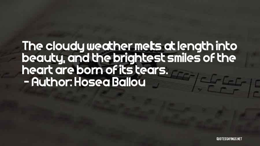 Hosea Ballou Quotes 565724