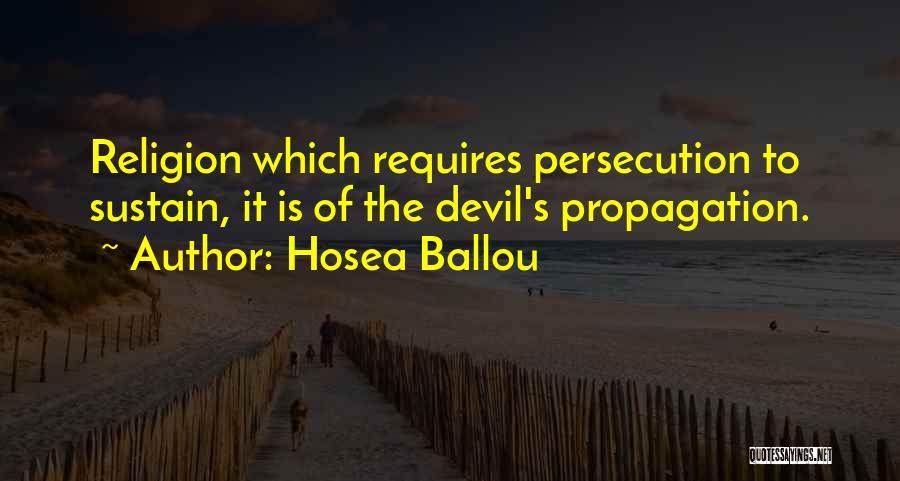 Hosea Ballou Quotes 620817