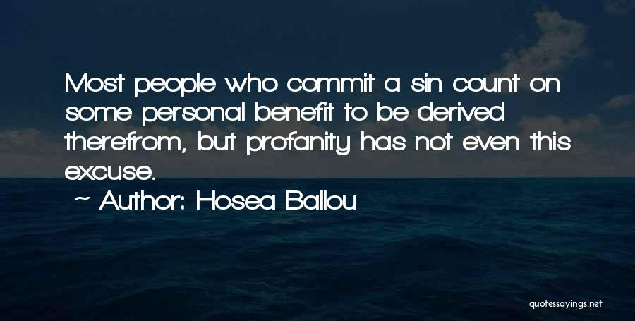 Hosea Ballou Quotes 627794