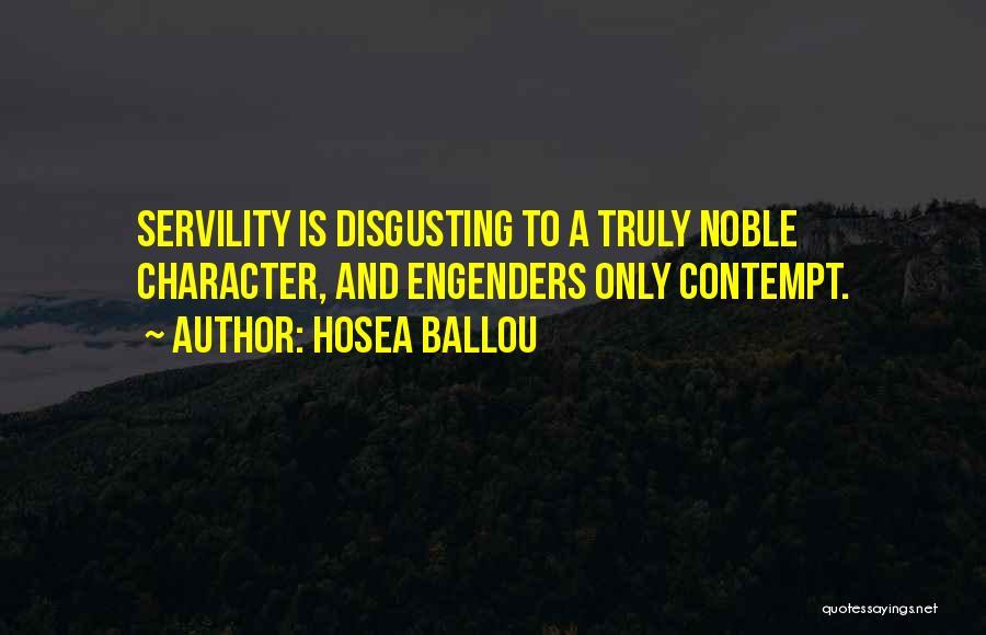 Hosea Ballou Quotes 668847