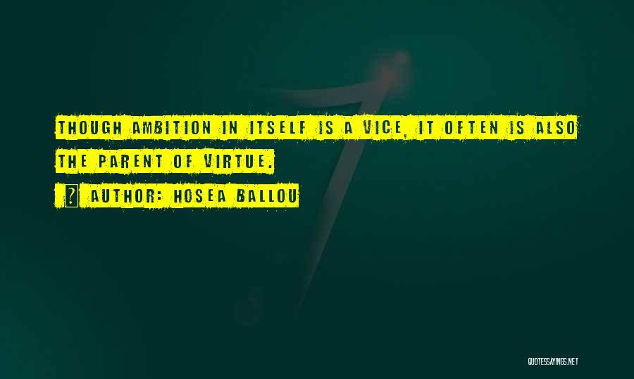 Hosea Ballou Quotes 702685
