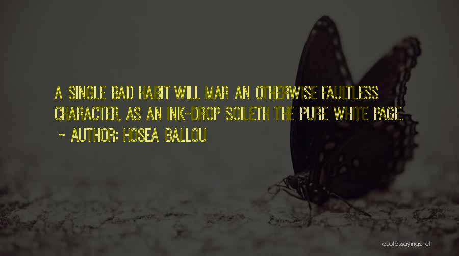 Hosea Ballou Quotes 730793