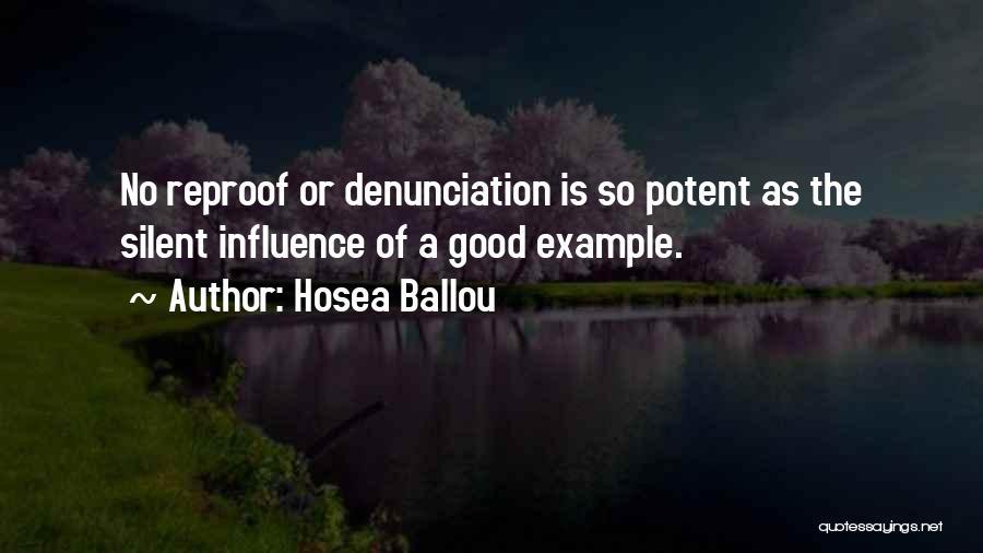 Hosea Ballou Quotes 755418