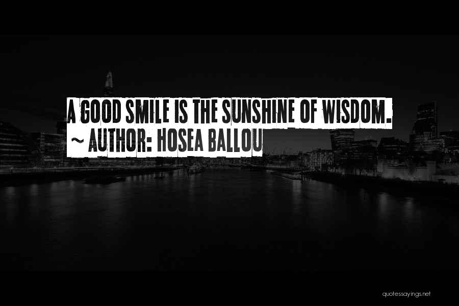 Hosea Ballou Quotes 795682