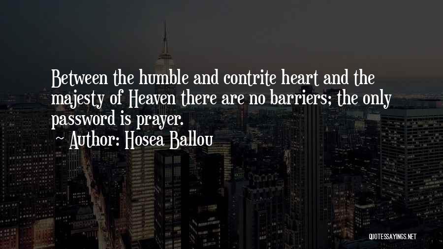 Hosea Ballou Quotes 814608