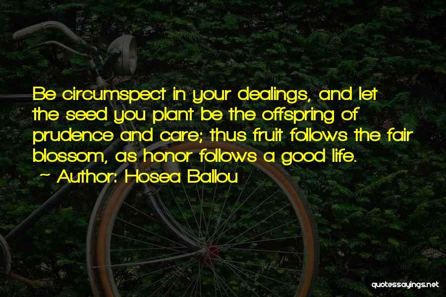 Hosea Ballou Quotes 816241