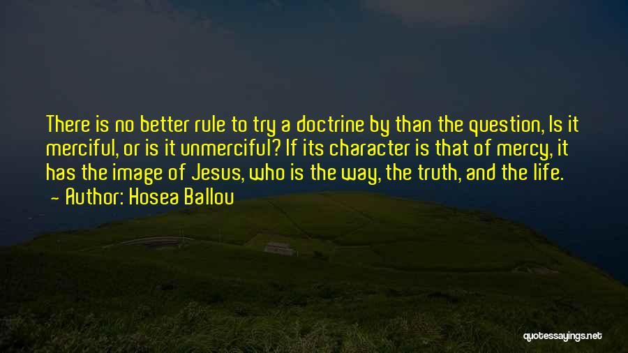 Hosea Ballou Quotes 838415