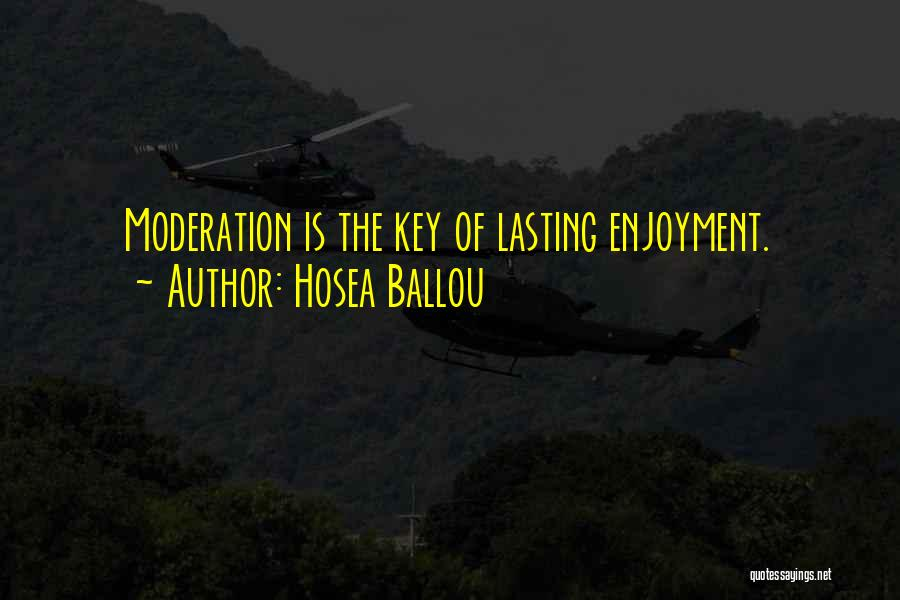 Hosea Ballou Quotes 847107