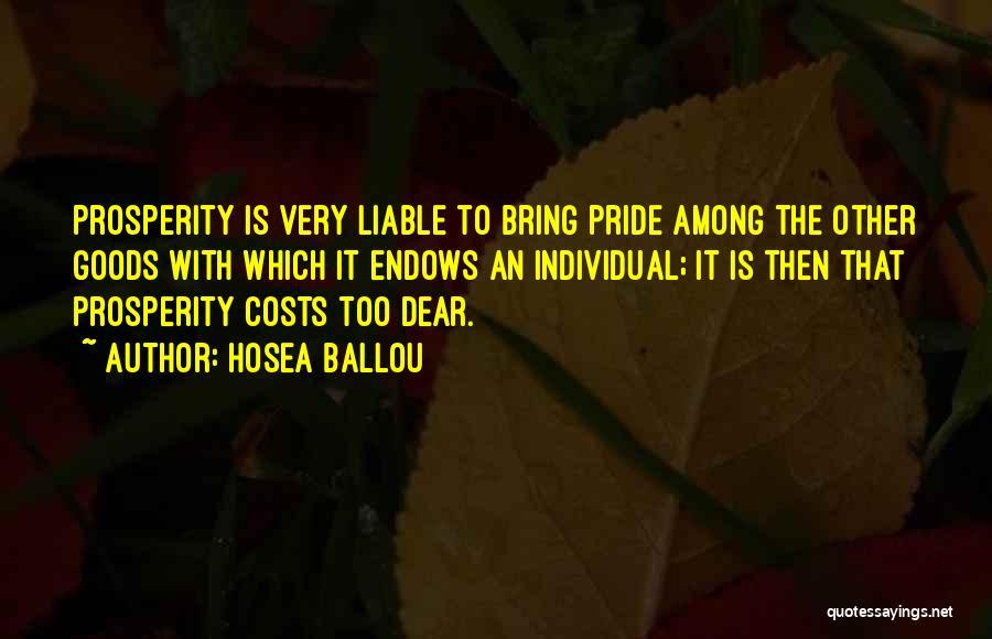 Hosea Ballou Quotes 868807