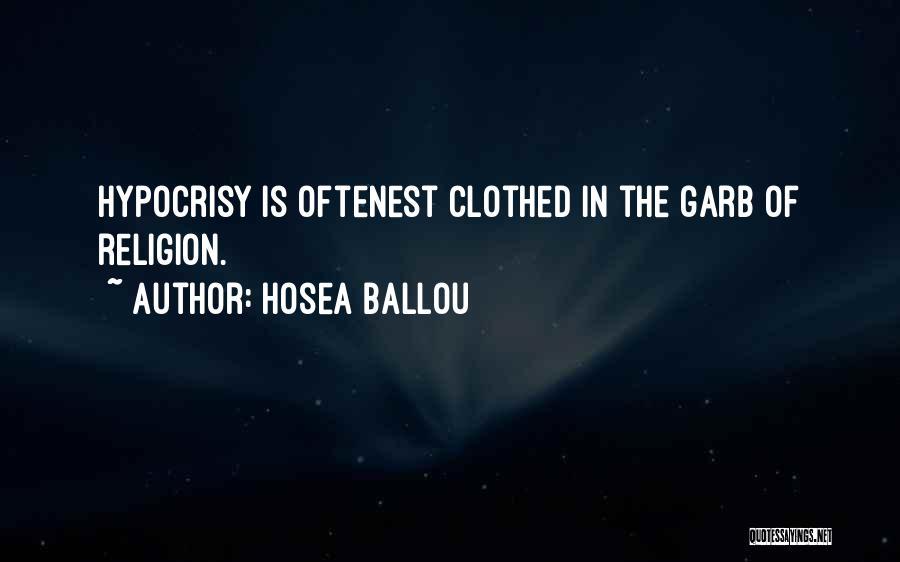 Hosea Ballou Quotes 903386