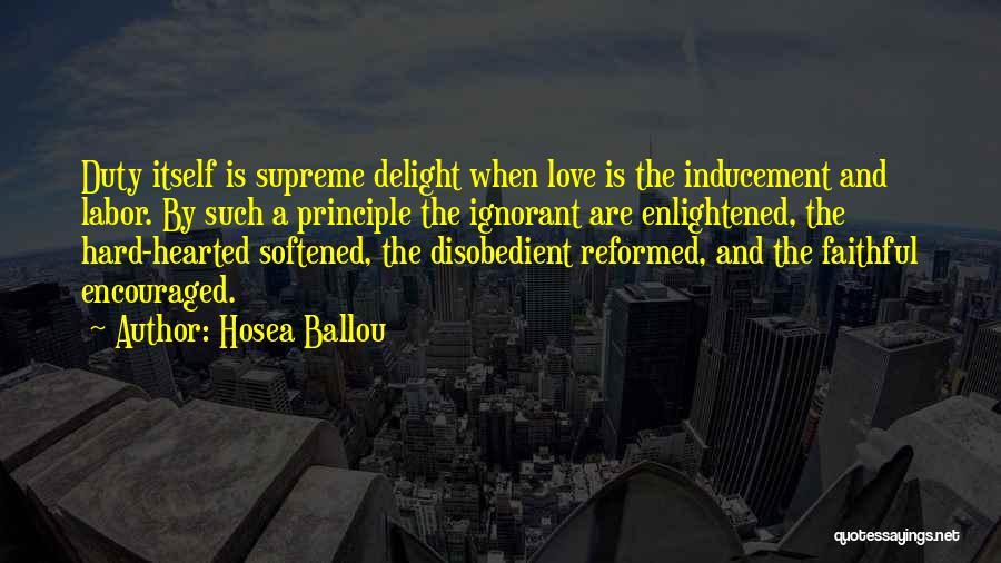 Hosea Ballou Quotes 910845
