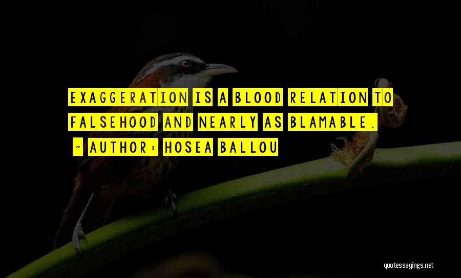 Hosea Ballou Quotes 979417