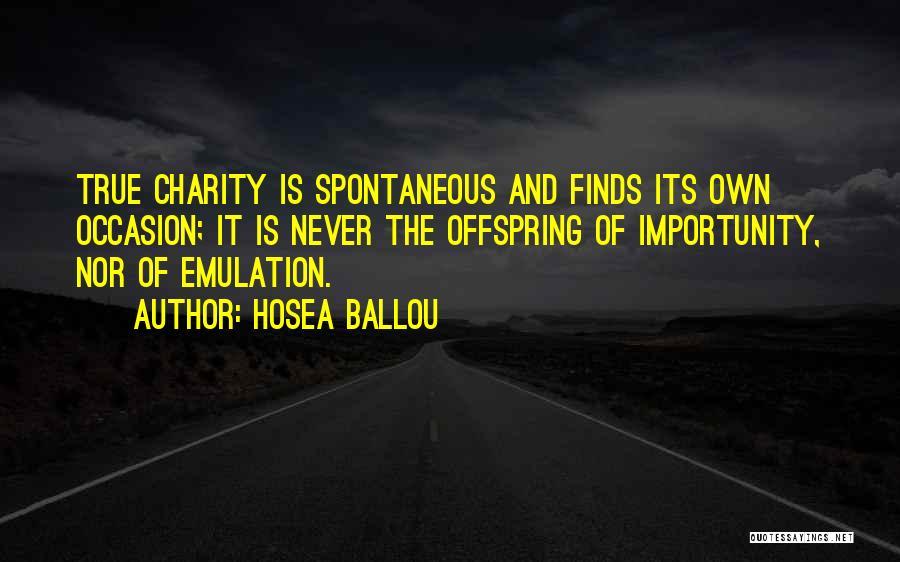 Hosea Ballou Quotes 980025