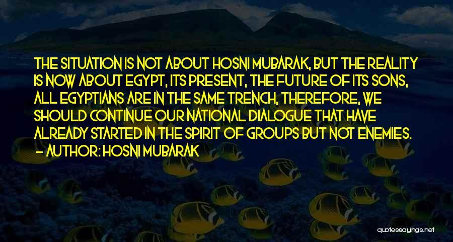 Hosni Mubarak Quotes 1203745
