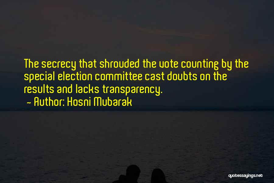 Hosni Mubarak Quotes 1747419