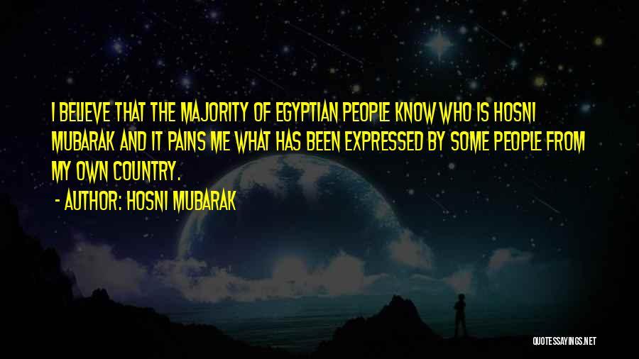 Hosni Mubarak Quotes 1814005