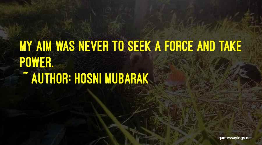 Hosni Mubarak Quotes 1820831