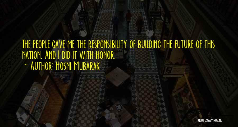 Hosni Mubarak Quotes 2158923