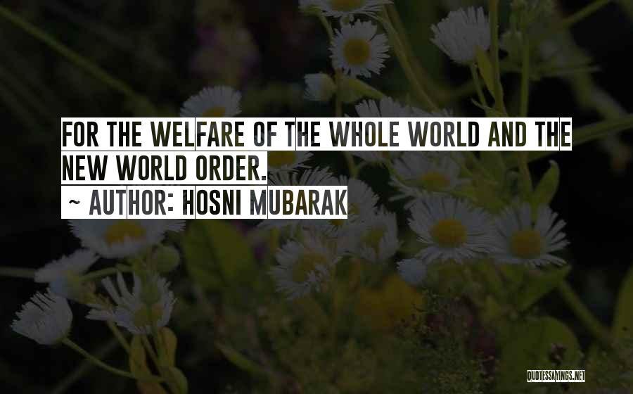 Hosni Mubarak Quotes 217586