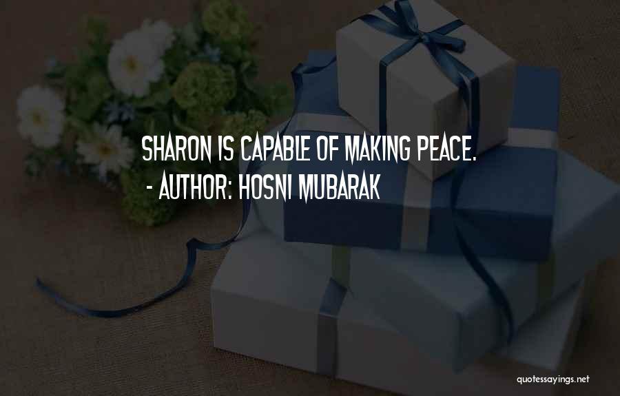 Hosni Mubarak Quotes 2189062
