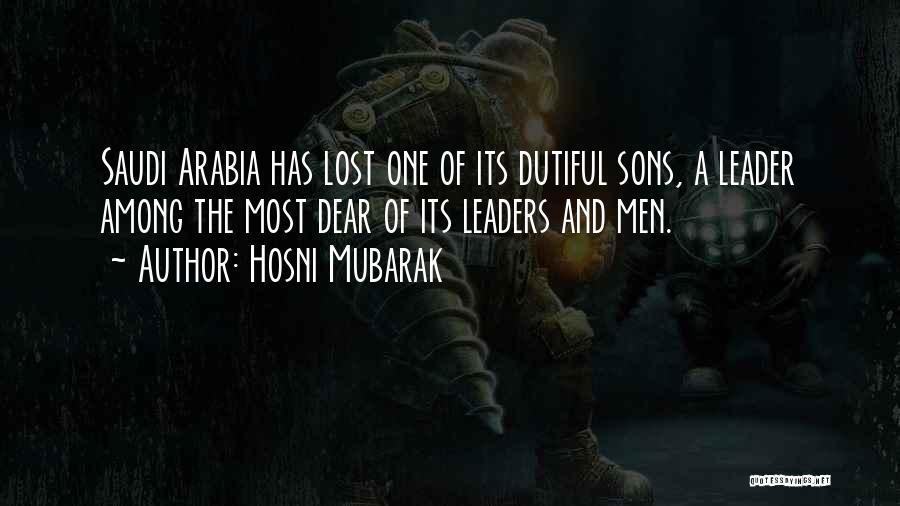 Hosni Mubarak Quotes 879780
