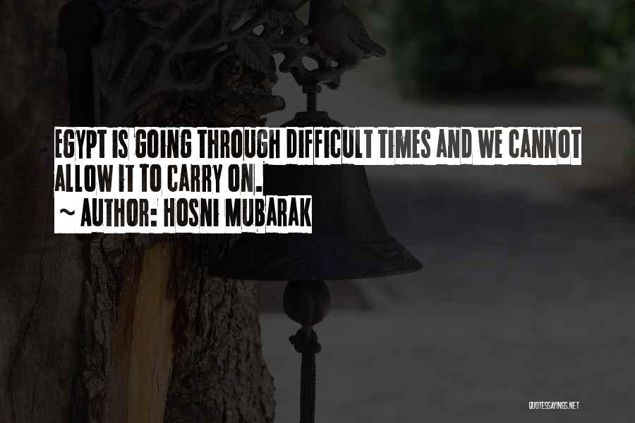 Hosni Mubarak Quotes 910638
