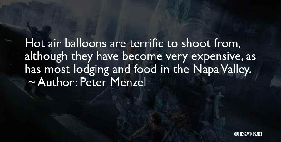 Hot Air Balloons Quotes By Peter Menzel