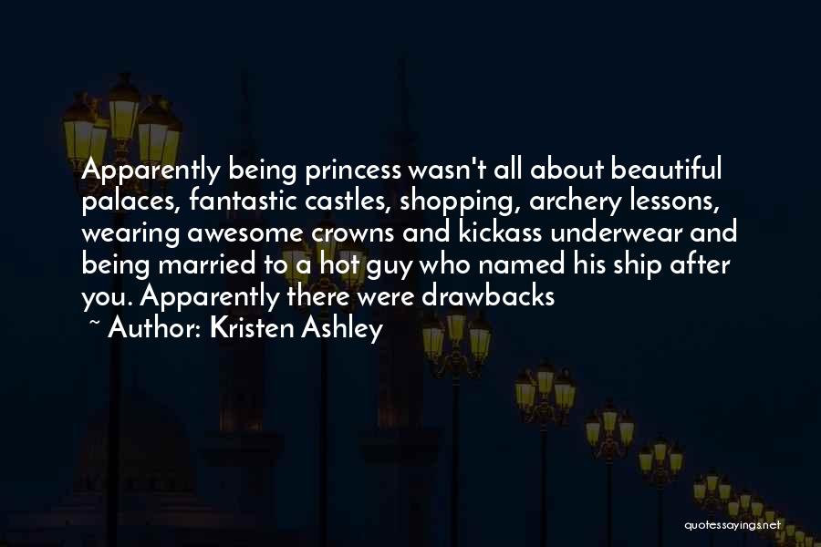 Hot And Beautiful Quotes By Kristen Ashley