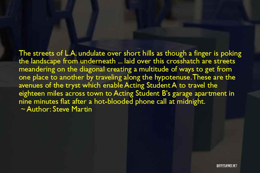Hot Blooded Quotes By Steve Martin