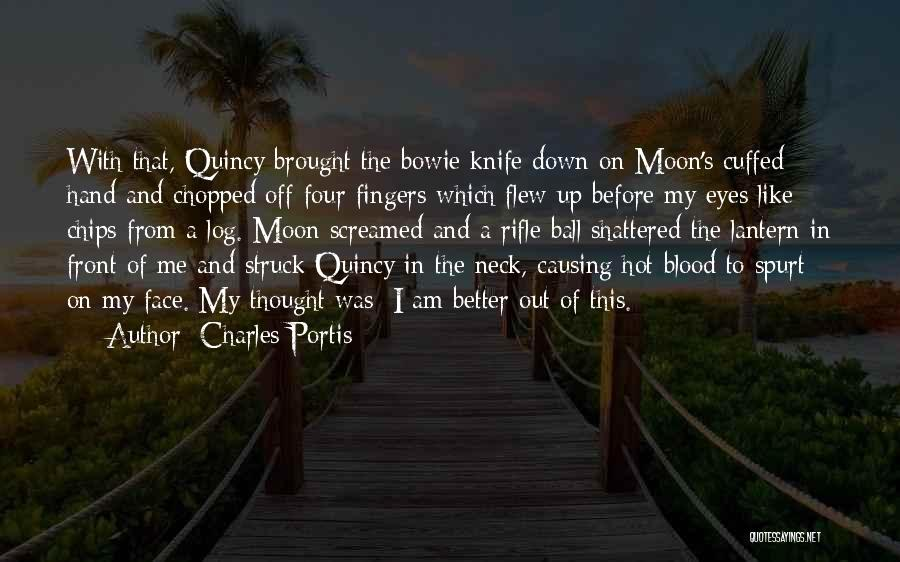 Hot Chips Quotes By Charles Portis