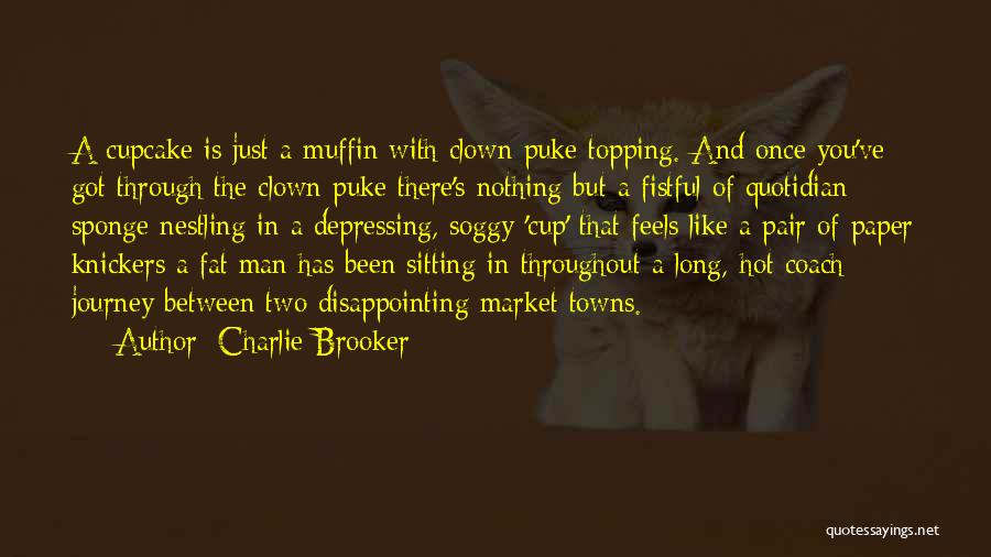 Hot Man Quotes By Charlie Brooker