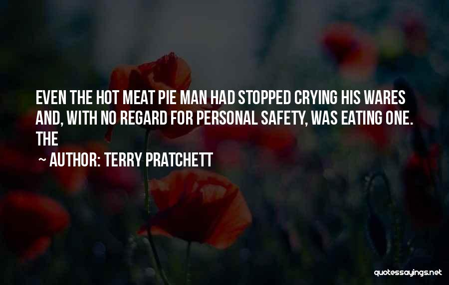 Hot Man Quotes By Terry Pratchett