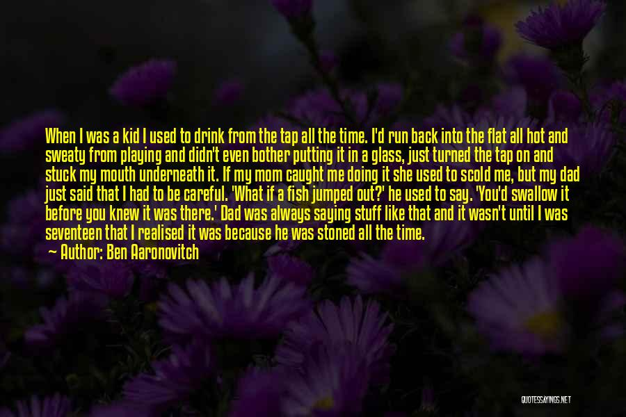 Hot Stuff Quotes By Ben Aaronovitch