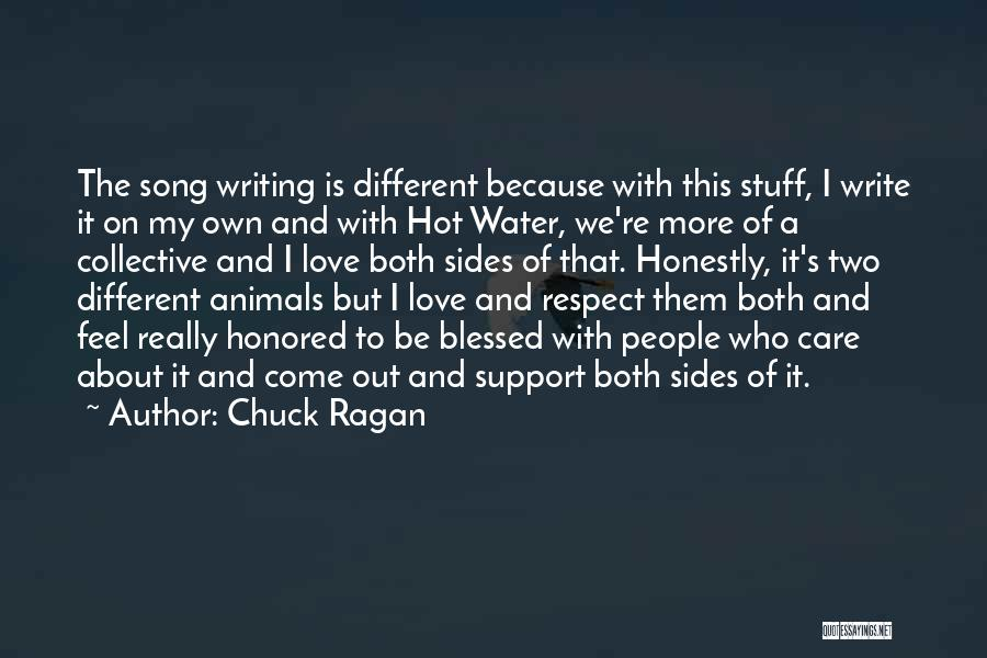 Hot Stuff Quotes By Chuck Ragan