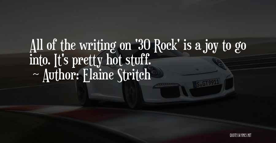 Hot Stuff Quotes By Elaine Stritch