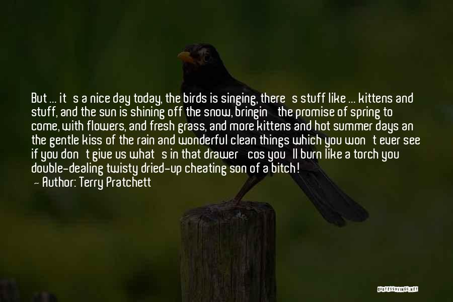Hot Stuff Quotes By Terry Pratchett