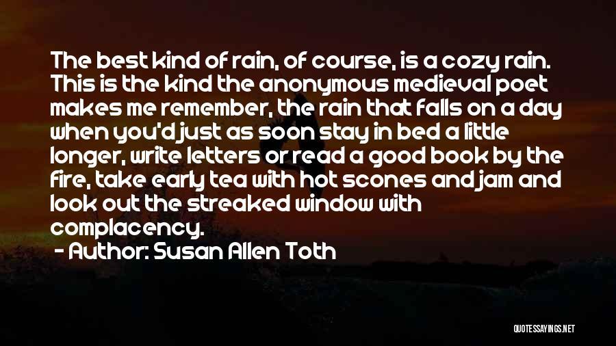 Hot Tea Quotes By Susan Allen Toth