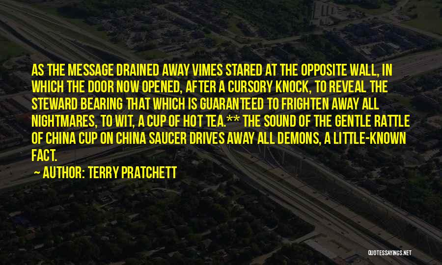 Hot Tea Quotes By Terry Pratchett