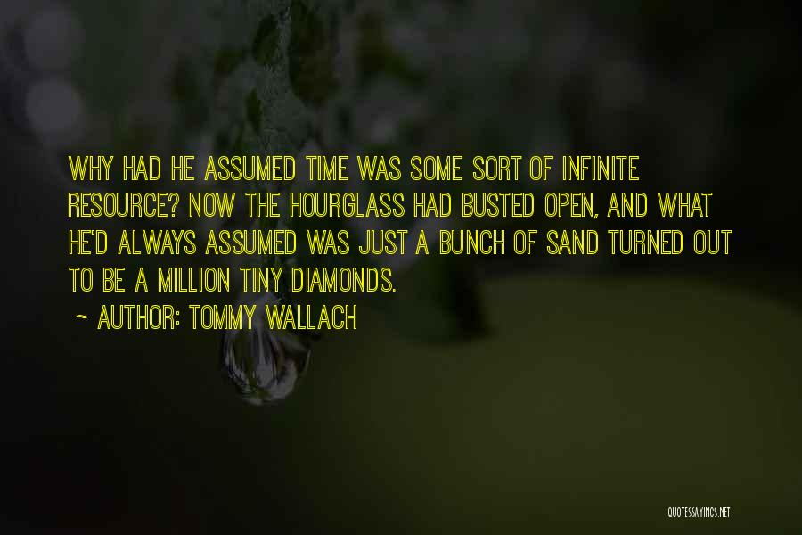 Hourglass Inspirational Quotes By Tommy Wallach