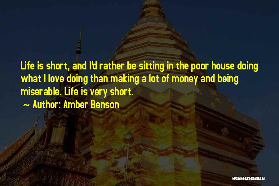 House Amber Quotes By Amber Benson