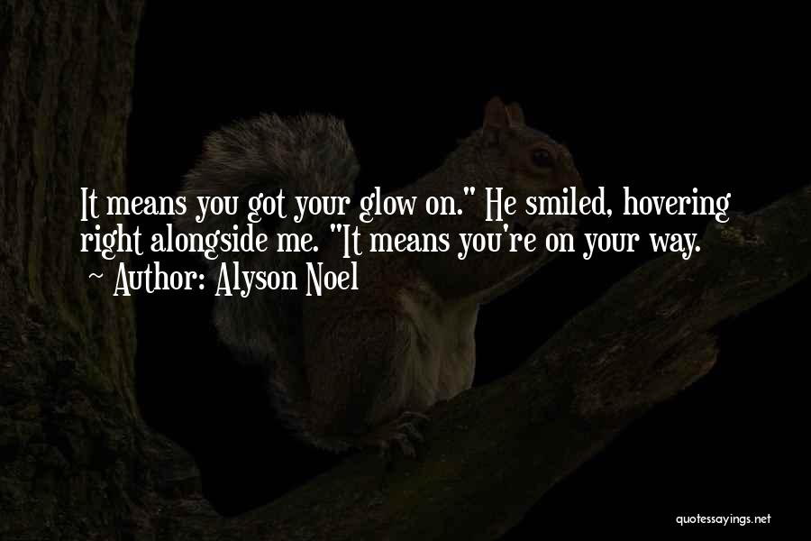 Hovering Quotes By Alyson Noel