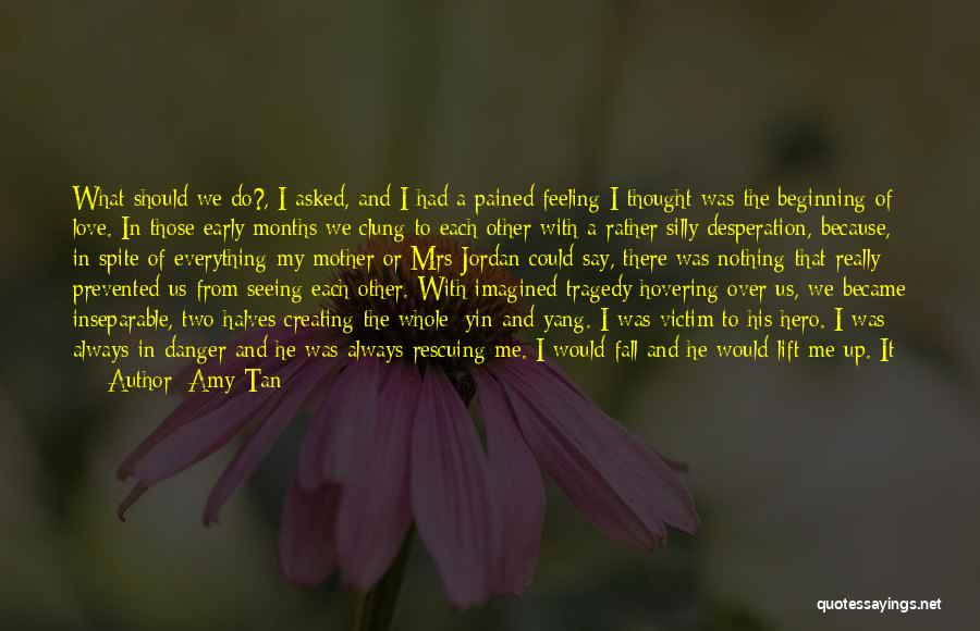 Hovering Quotes By Amy Tan