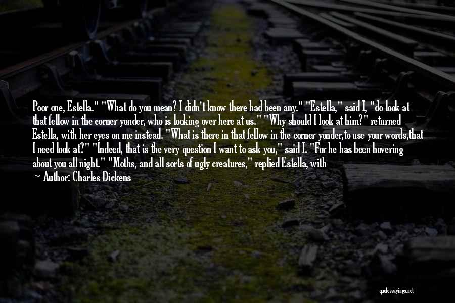 Hovering Quotes By Charles Dickens