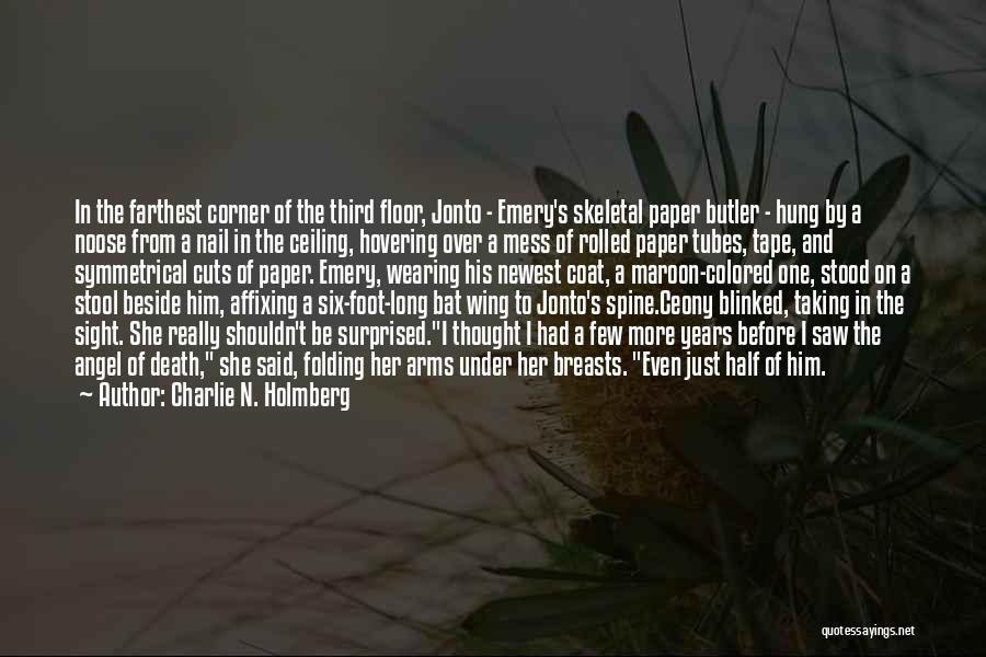 Hovering Quotes By Charlie N. Holmberg