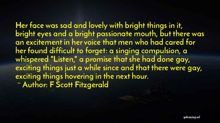 Hovering Quotes By F Scott Fitzgerald