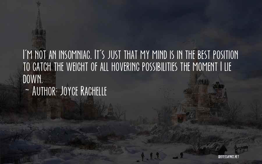 Hovering Quotes By Joyce Rachelle
