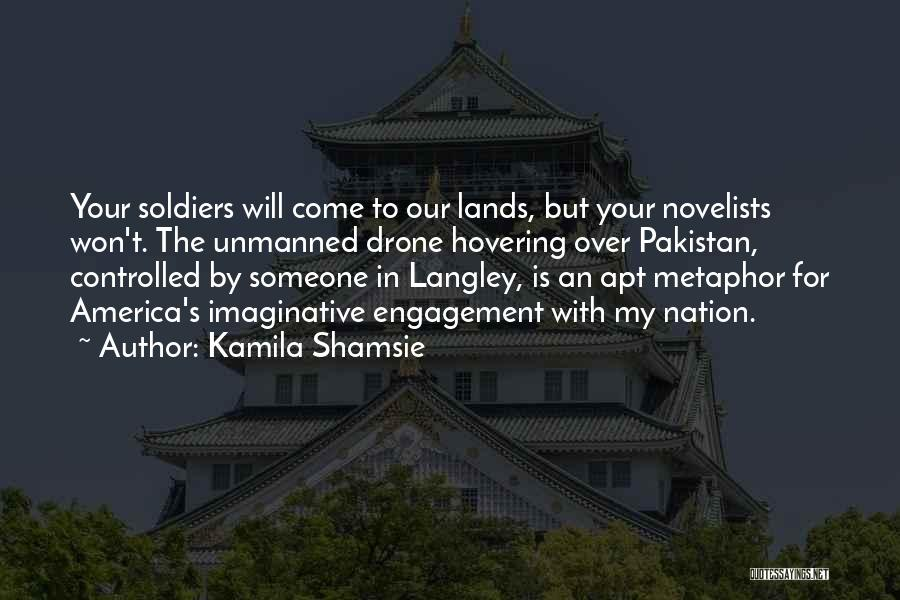 Hovering Quotes By Kamila Shamsie