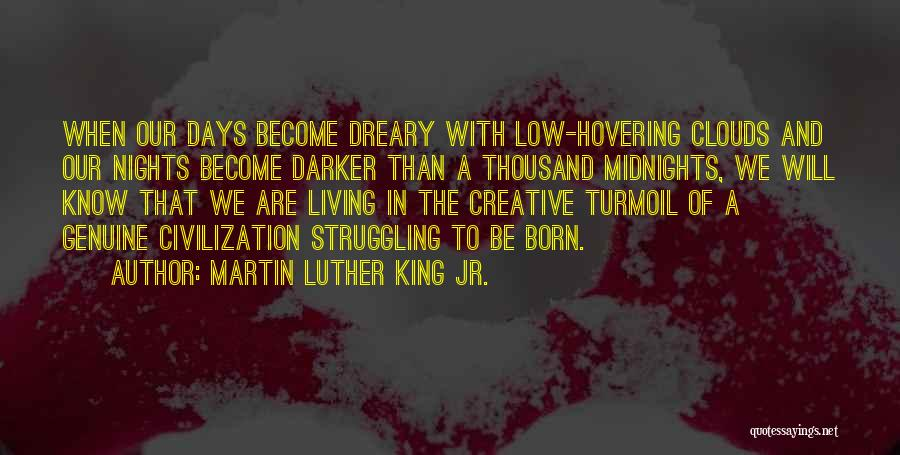 Hovering Quotes By Martin Luther King Jr.