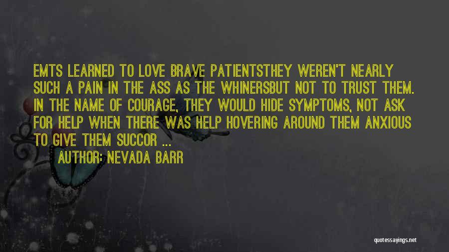 Hovering Quotes By Nevada Barr
