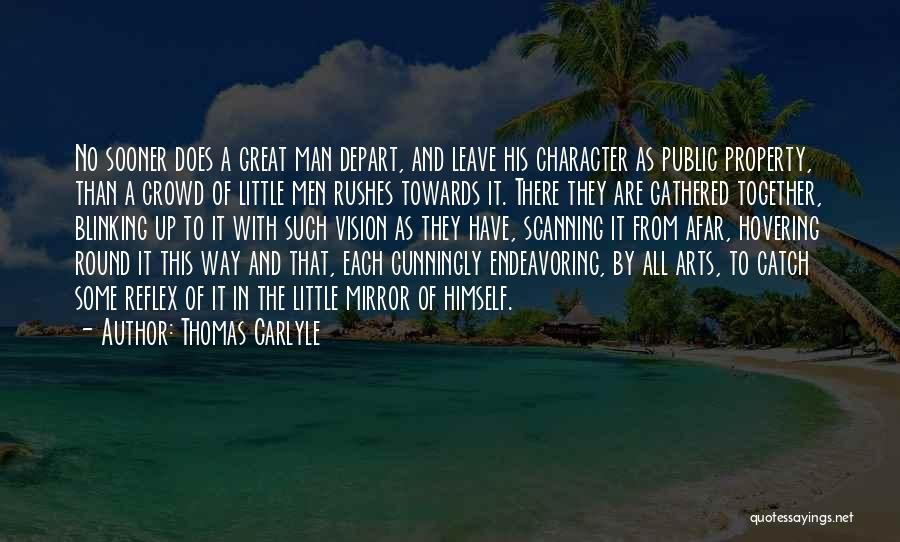 Hovering Quotes By Thomas Carlyle